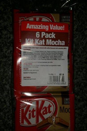 6 Pack Of Kit Kat Mocha 6 x 45g, £1 @ Poundland