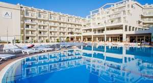 Two people  - 5 nights in Four Star Aqua Hotel Aquamarina And Spa (Costa Brava) including Breakfast + two lots of hand luggage + another 15kg bag from £164.64pp @ A1 Travel
