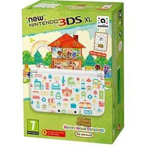 NEW Nintendo 3DS XL Animal crossing happy home designer bundle £139.99 at GAME