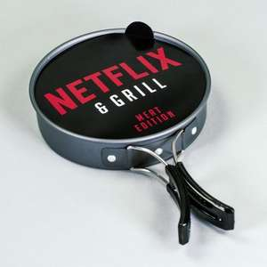 Netflix And Grill - 21st Century TV Dinner - £12.99 delivered @ Firebox