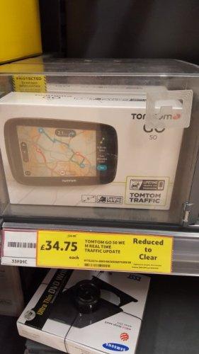 TomTom Go 50 @  Tesco Hemel Hempstead - £34.75