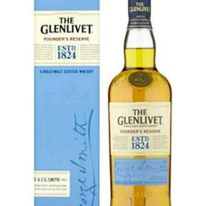 Glenlivet Founder's Reserve Scotch Whisky 40 Percent 70 cl @ amazon for £20