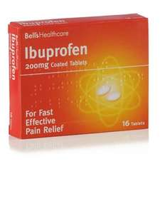 Ibuprofen 200mg tablets 20p @ Home Bargains