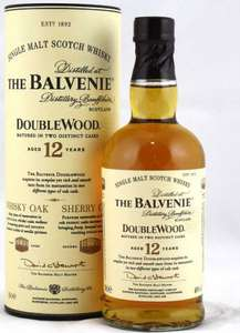 Balvenie Double Wood Single Malt Scotch Whisky 12 Years Old 20cl - £5 Asda in-store