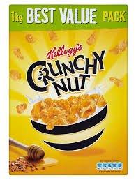 Kellogg's Crunchy Nut Cornflakes 2 x 1KG packs @ Costco