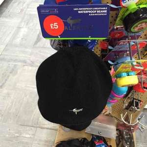sealskinz waterproof beanie hat cycling now only £5 @ halfords in store