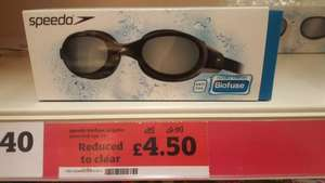 Speedo Biofuse Futura adult Swimming goggles £4.50 in store Sainsbury's