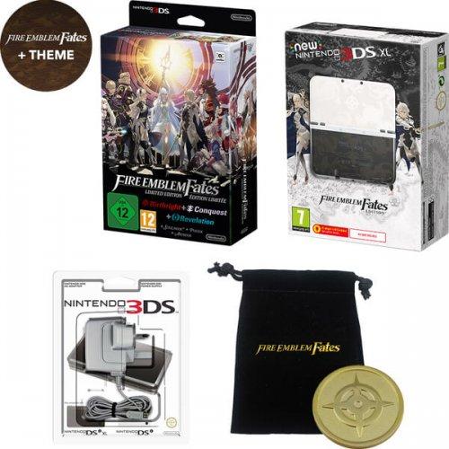 New Nintendo 3DS XL Fire Emblem Fates Edition + Fire Emblem Fates - Limited Edition £239.99 @ Nintendo store