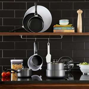 Buy John Lewis The Basics Aluminium Frying Pans | John Lewis £1.50 + £2 C&C