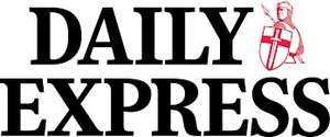 Get tomorrows Daily Express for half price at just 45p