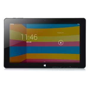 Cube i10 Dual Boot Windows/ Android Tablet 2GB RAM, 32GB ROM - Black £96.34 delivered @ Deal extreme