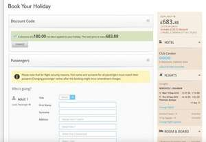 Holiday turkey £683 family of 4 from Thomson Holidays