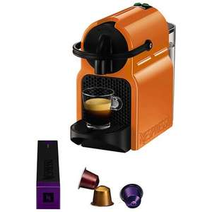 Nespresso Inissia - John Lewis - summer sun colour, £59.99 + £30 free coffee