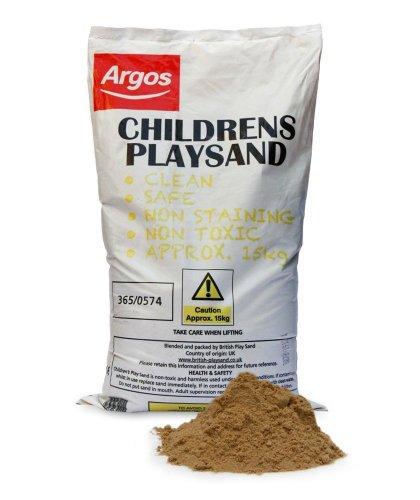 Children's Play Sand 15Kg £3.29 @ Argos