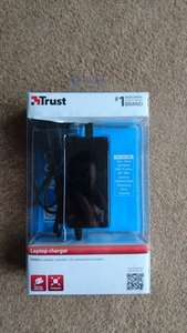 Trust 90W laptop charger (universal, 10 tips) £5 in store @ Sainsbury's Stirling