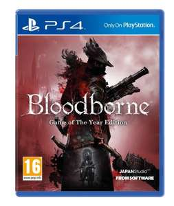 Bloodborne Game of the Year (PS4) -£24.00 @ Amazon UK