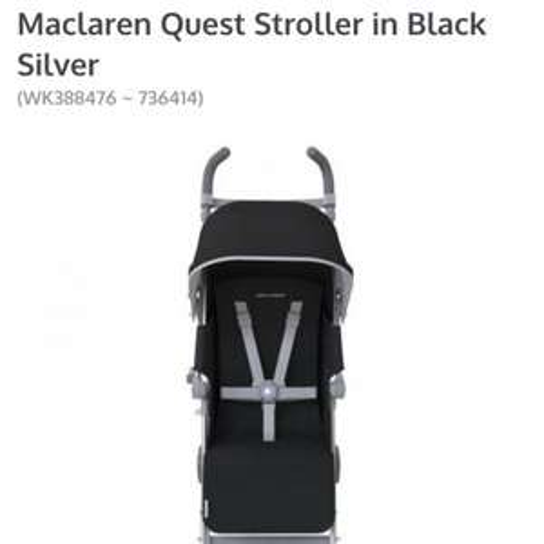 Maclaren quest Stroller  at Kiddicare for £129