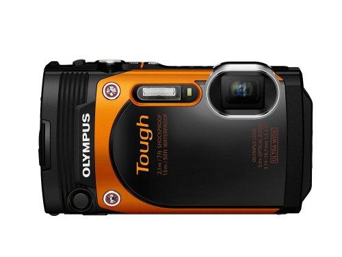 Olympus TG-860  Stylus Tough Camera - Orange - Amazon @ £165.00