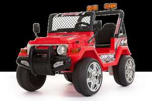 2 seat remote control ride on Jeep @ rideoncars
