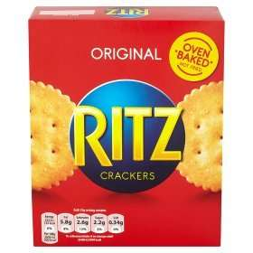 Ritz Crackers 89p per box at Home Bargains