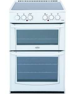 Belling Enfield E552 White Ceramic Electric Cooker with Double Oven £358.00 @ MARKS Electrical