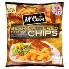 Mccain Beer Batter Ridge Cut Chips 750g - £1 @ Sainsburys (Instore & Online)