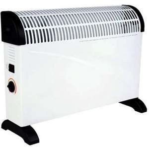 Convector Heater with Thermostatic Control - 2kW £9.93 @ Homebase Free C&C