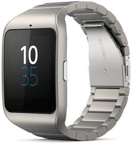 Sony Smartwatch 3 SWR50 with Stainless Steel band £145 Sold by MACnificent and Fulfilled by Amazon.
