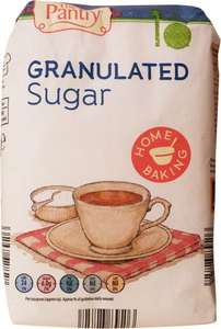The Pantry Granulated Sugar 1KG @ Aldi for 39p