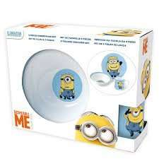 Minions ceramic kids dining set found in-store at Blantyre B&M. Could be national.