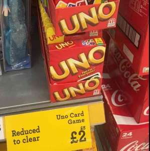 Uno Card Game £2 @ Morrisons