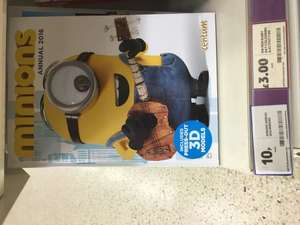 Minions, Doctor Who and Simpsons Annual 2016 reduced 10p @ Tesco instore