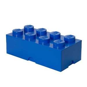Lego Storage Brick 8 - Blue - Argos - £16.76