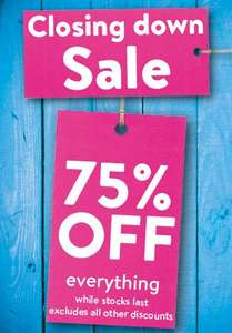 75% off pretty much everything! Protein, Bars and More! @ NutriCentre