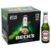 Becks Beer - 12 x 275ml - £4.50 + £2.99 del - 5 Boxes total £26.48 inc delivery Amazon Pantry
