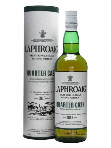 Laphroaig quarter cask 70cl 48% single malt Islay scotch whisky £20 @ Asda