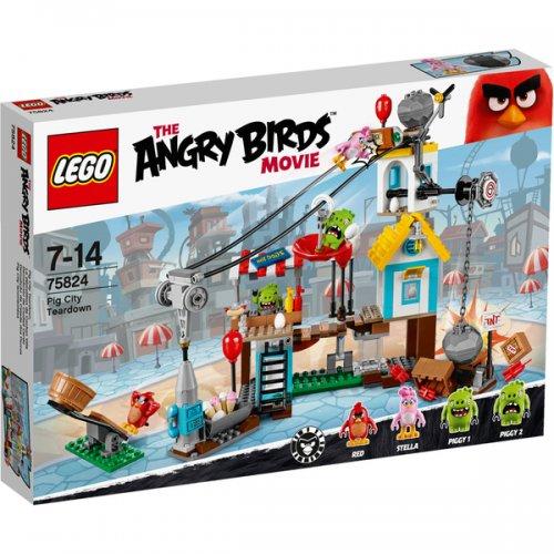 LEGO Angry Birds: Pig City Teardown (75824) £35.99 @ Zavvi