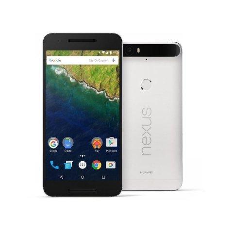 Huawei Google Nexus 6P 64GB 4G LTE SIM FREE/ UNLOCKED - Frost White £399.99 @ Eglobal central