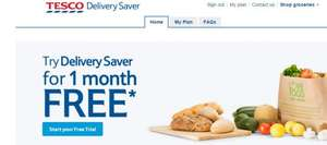 Tesco Anytime DELIVERY Saver FREE for 1month can be canceled any time ! Free Delivery on - Groceries, F&F and Tesco direct ! new customers