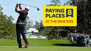 SkyBet.com US Masters Paying 8 Places 1/4 Odds.