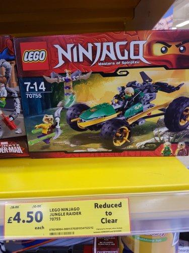 Lego Ninjago 70755 master of spinjitzu £4.50 Tesco Aston