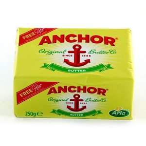 ANCHOR BUTTER was £1.75 now 2 for £2.00 @ Iceland