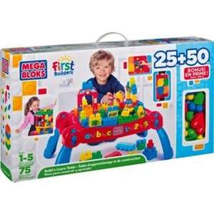 Mega Bloks First Builders 3 in 1 Build 'n' Learn Table half price now £19.99 C+C @ Argos