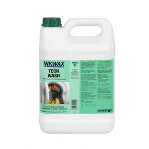 Nikwax Tech Wash 5 Litres @ Salveo Department Store £25.99 Delivered
