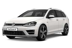 Volkswagen Golf Estate 2.0 TSI R DSG (300bhp) personal lease. 10k miles PA, £2,400 dep, £174.81pm x 23, £239.99 admin fee = £6660.61 @ NationalVehicleSolutions