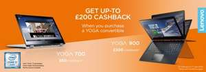 Lenovo Yoga 900 i5 200 Lenovo cashback @ Very.co.uk (poss 7 percent off quidco) ends Apr 7!