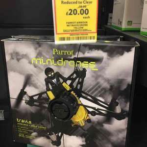 parrot mini drones all inc night Tesco now £20