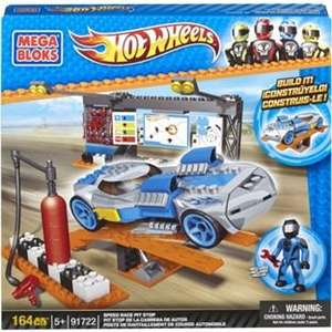 Mega Bloks Hot Wheels Speed Race Pit Stop (was £20.99) Now £7.99 + Free Delivery at Argos