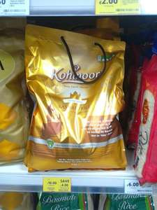 Kohinoor Gold Extra Long Basmati Rice 10Kg SAVE £4.00 Was £14.00 Now £10.00 at Tesco