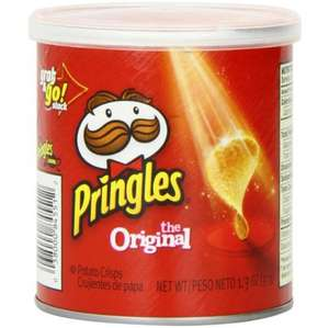 Free Pringles Crisps  in participating stores